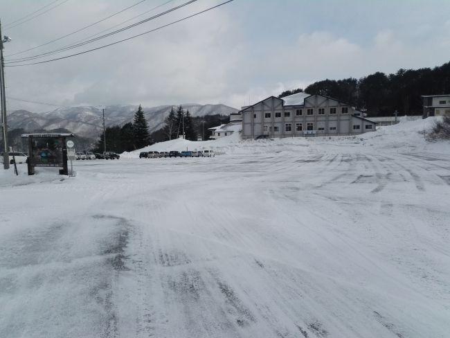 七ヶ宿スキー場,第一駐車場