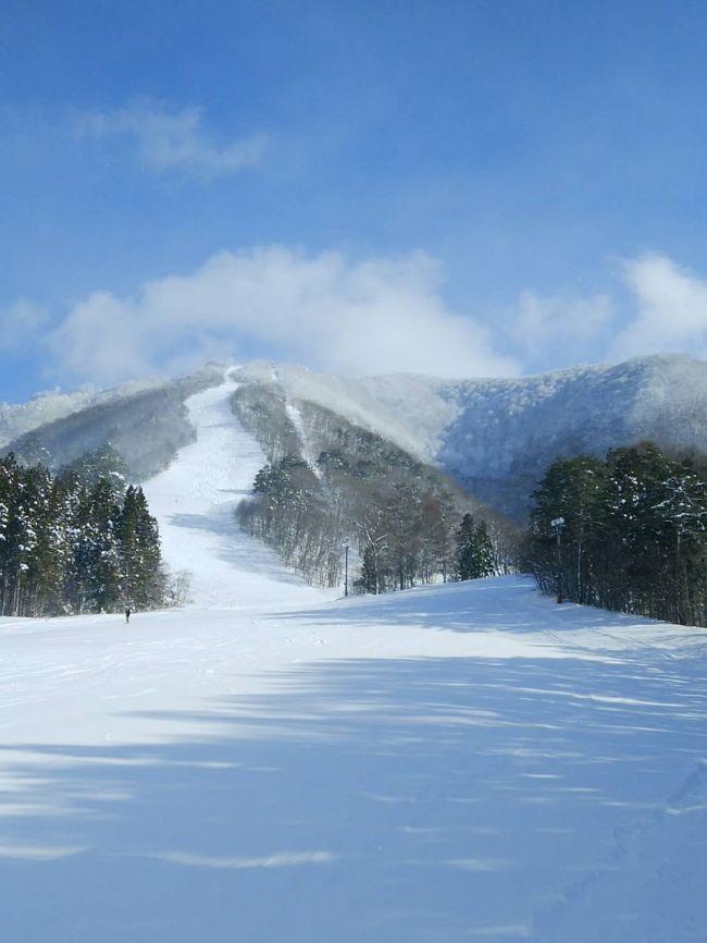 七ヶ宿スキー場,コース